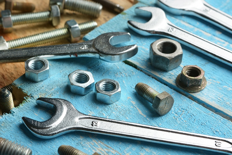 Tools with nuts & bolts, Heat Pump Maintenance Tips | HVAC Service | East Wenatchee, WA
